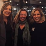 Immediate Past President of Law Society of NSW Pauline Wright (middle) with Central Coast Young Lawyers Representatives Michelle Meares (left) and Taylor Marks (right)