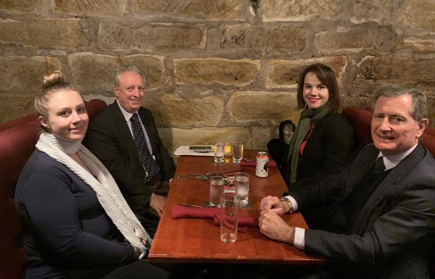 Dinner Meeting with Judge Costigan – 5 June 2019